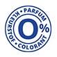 0% parfum en kleurstof keurmerk