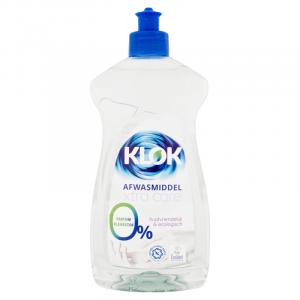 klok afwasmiddel extra care 0% parfum