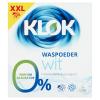 Klok waspoeder grootverpakking wit XXL
