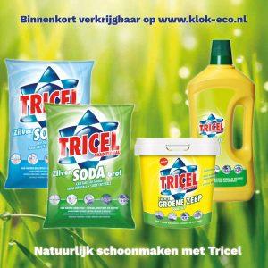 Tricel Soda en Tricel groene zeep